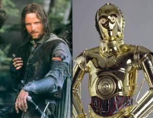 Aragorn C3PO