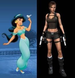 Jasmine à la Lara Croft